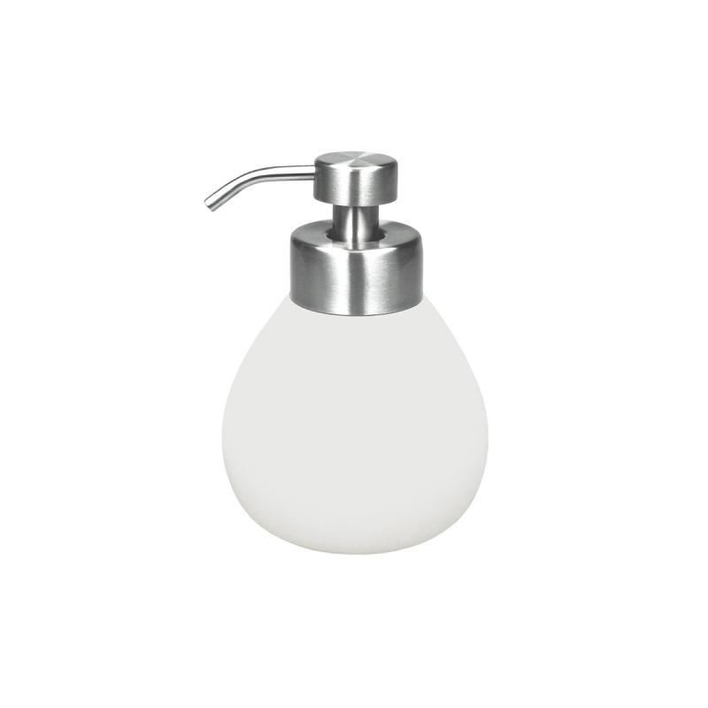 Tips på exklusiv badruminredning online till trendiga badrum. Tvålpump Siri Vit