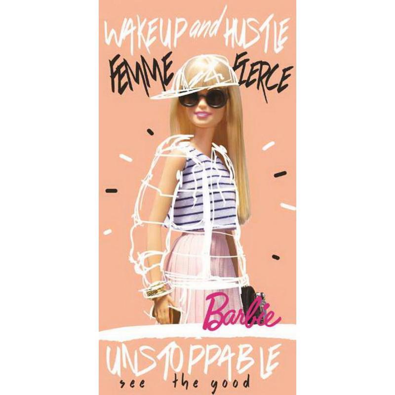 Bath towel Barbie 70x140