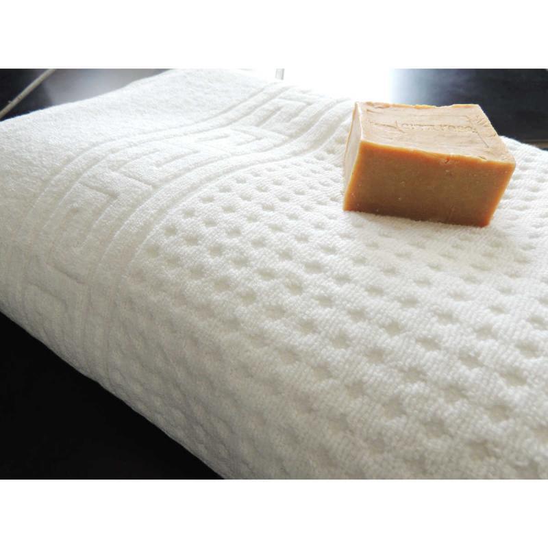 Spa towel 100x200 suitable for massage table 100% cotton White