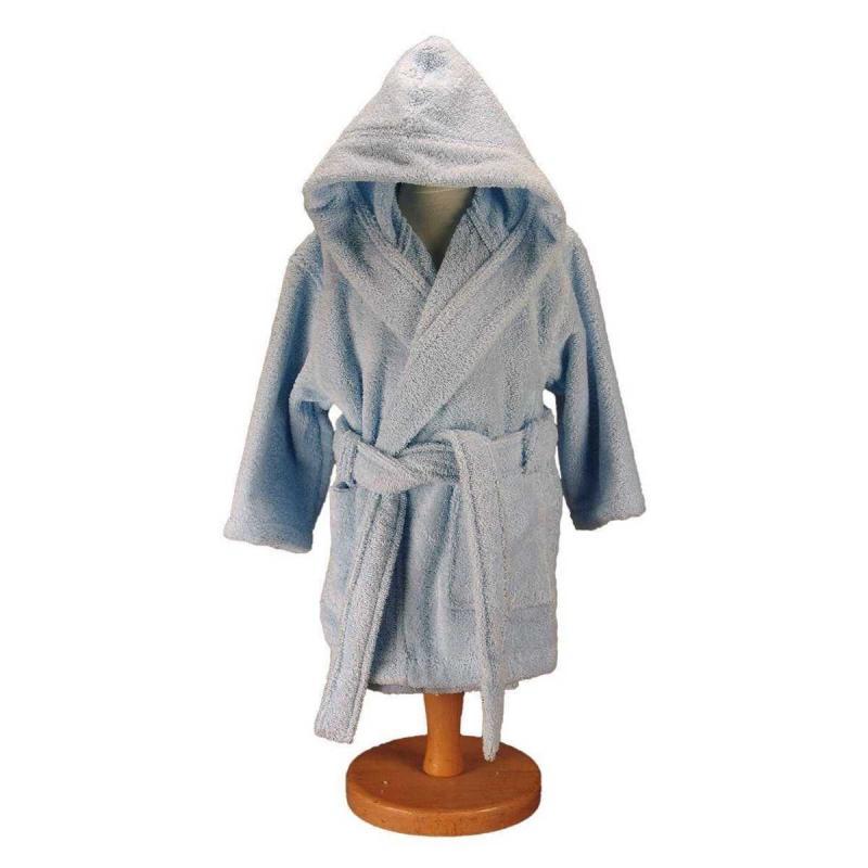 Baby and childrens bathrobe LUXURY ciel