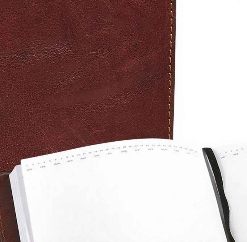 Notebook leather Baway
