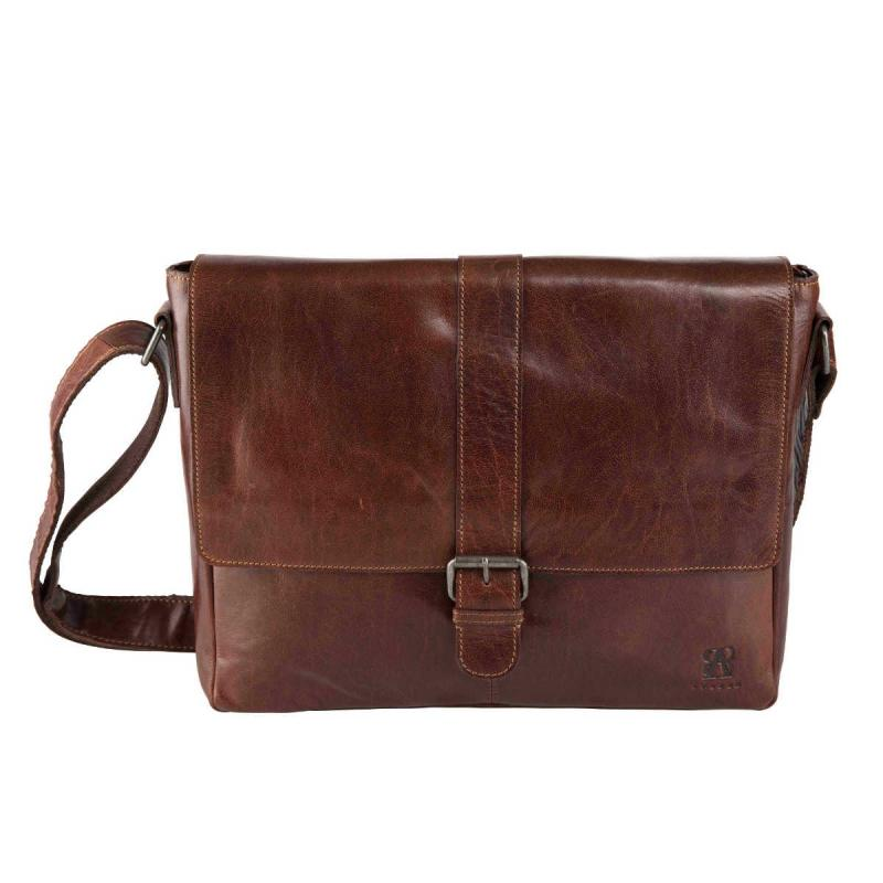 Messenger Bag i Skinn