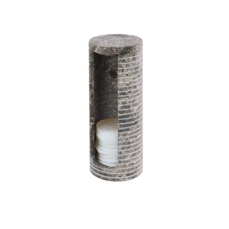 Behållare Bomullsrondeller ROKO av marmor