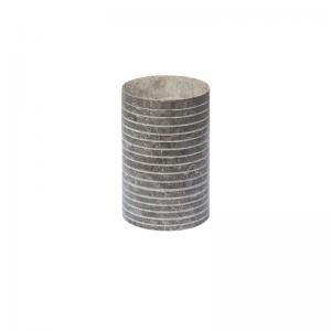 Behållare bomullstops ROKO av marmor