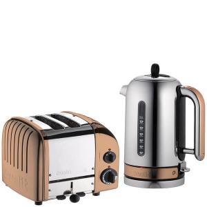 Dualit Classic 2 slice toaster with Patented ProHeat element and kettle