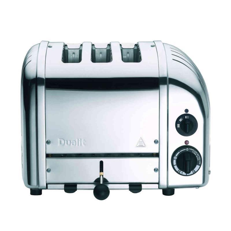 Dualit Classic 3 slice toaster. Polished finish