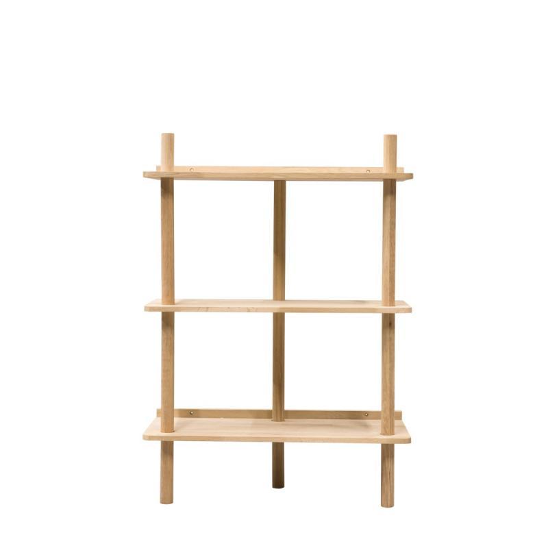 By On Shelf Lone of light oak wood. ByOn Furniture Online