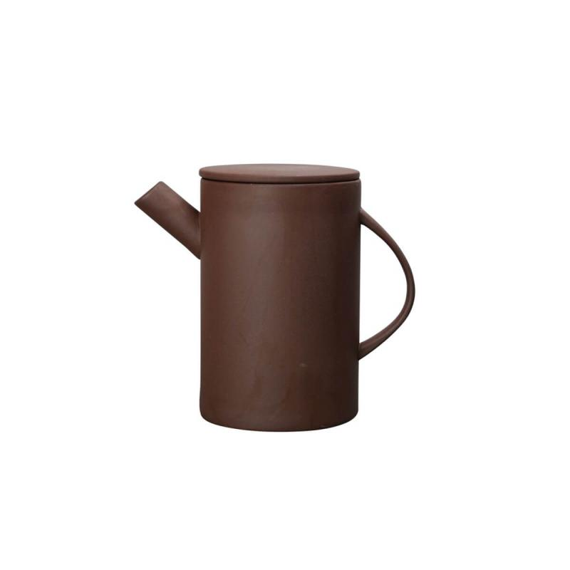 By On Teapot Clay Brown of Stoneware from ByOn