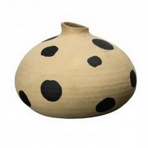 ByOn Vas Dots. Handgjord av terracotta - By On Inredningsdetaljer