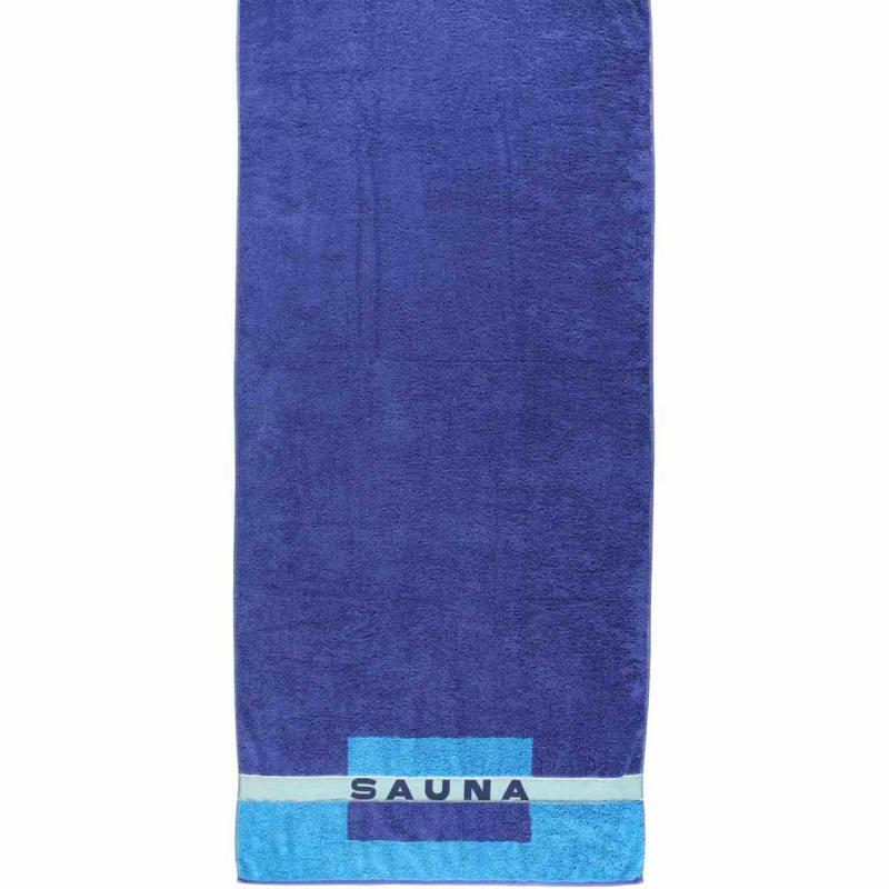 Bastuhandduk 80x200 159-11 Blau