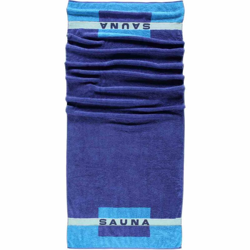 Sauna Towel 80x200 159-11 Blau