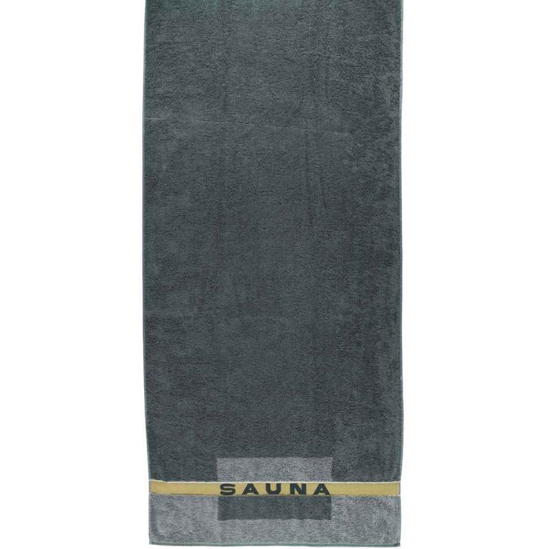 Bastuhandduk 80x200 159-77 anthrazit