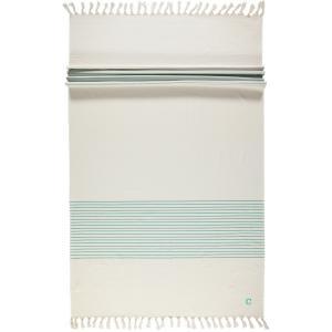 Cawö Luxury Hammam Towel 5501-40 Turquoise Perfect Beach Towel