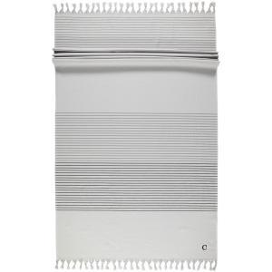 Cawö Luxury Hammam Towel 5501-70 Platin Perfect Beach Towel