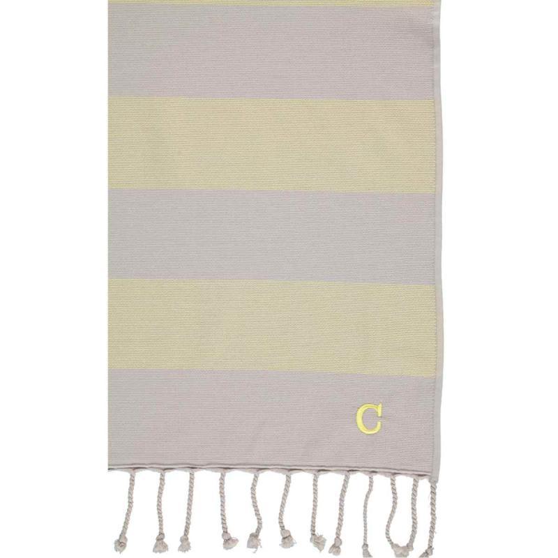Hammam Towel Code 5503-75 Lemon