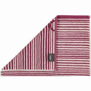 Cawö handduk Dune burgundy 499-23 av 100% ren bomull