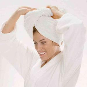 Cawö hårturban 7073 av 100% högkvalitativ bomullffrotté