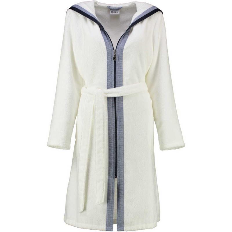 s.Oliver women's terry kimono bathrobe 3712 46 Turquoise striped