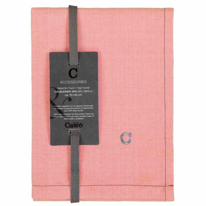 Tea Towel Cuisine Solid 50x70 rouge