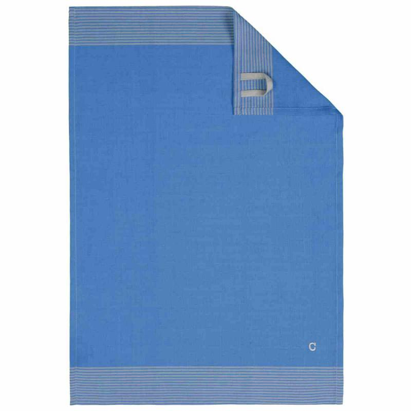 Tea Towel Cuisine Two-Tone 50x70 blau