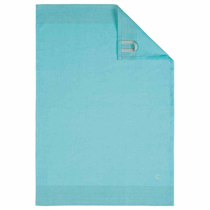 Tea Towel Cuisine Two-Tone 50x70 turquoise