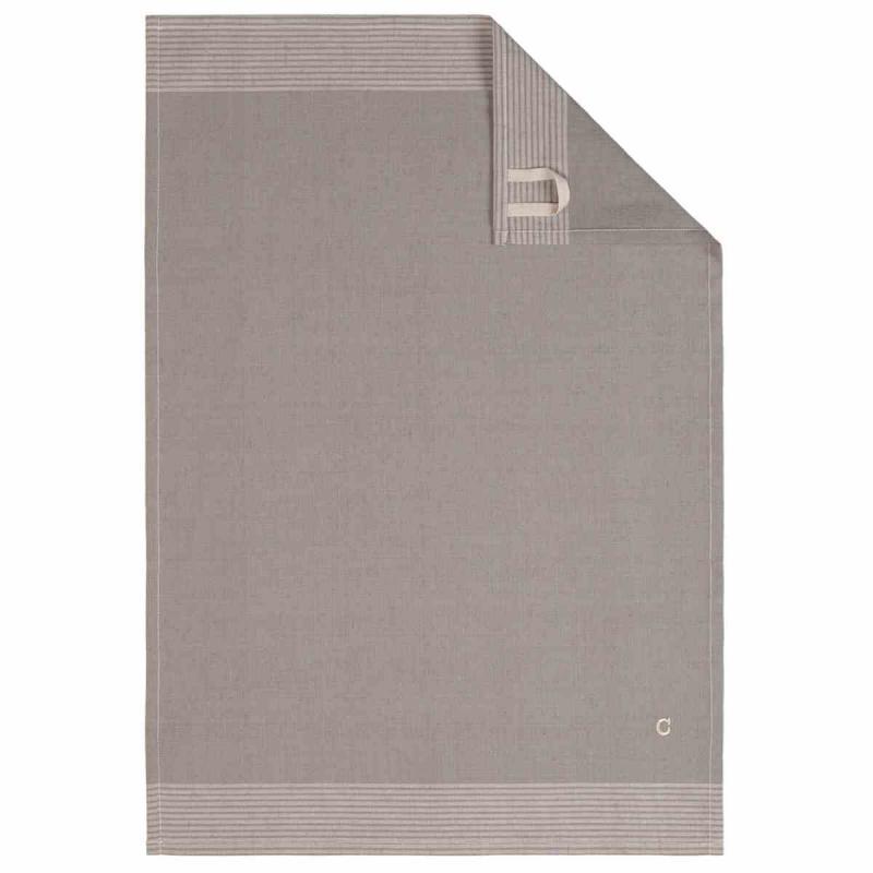 Tea Towel Cuisine Two-Tone 50x70 graphit