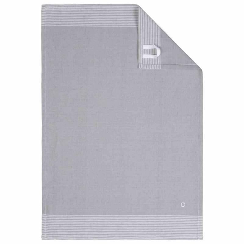 Tea Towel Cuisine Two-Tone 50x70 platin