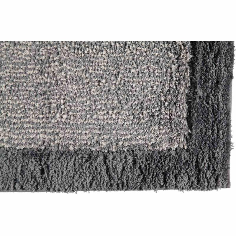 Bath Mat Luxury Home Two Tone 590-77 schiefer