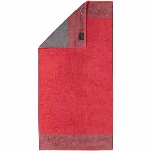 Handduk Luxury Home Two Tone 590-27 röd