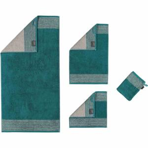 Handduk Luxury Home Two Tone 590-44 smaragd