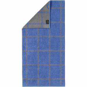 Handduk Luxury Home Two Tone Grafik 604-17 blå