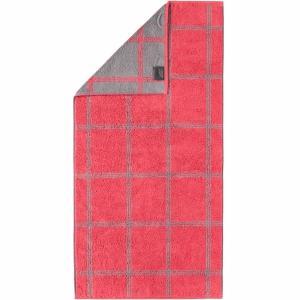 Handduk Luxury Home Two Tone Grafik 604-27 röd