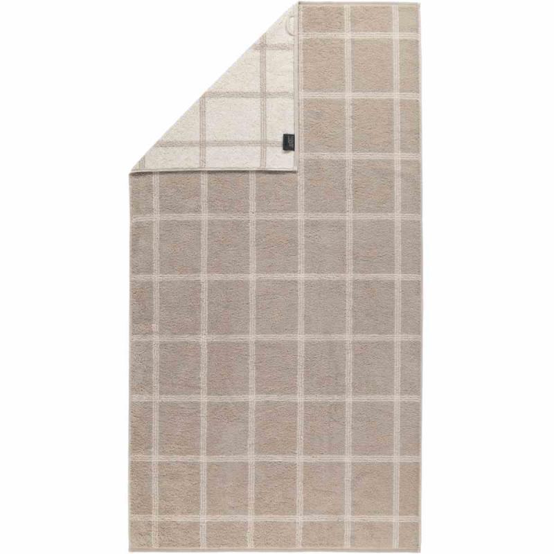 Handduk Luxury Home Two Tone Grafik 604-33 sand