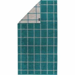 Handduk Luxury Home Two Tone Grafik 604-44 smaragd