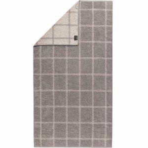 Handduk Luxury Home Two Tone Grafik 604-70 graphit