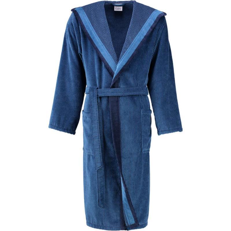 Men's bathrobe 5841-11 blau