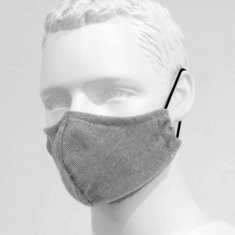 2-Pack reusable mouth mask light grey