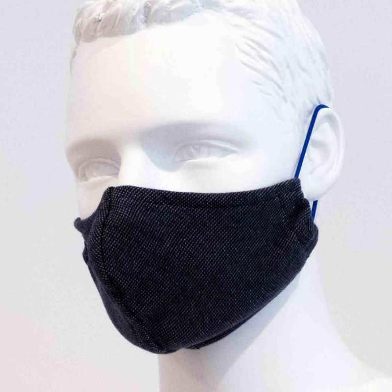 2-Pack reusable mouth mask dark grey