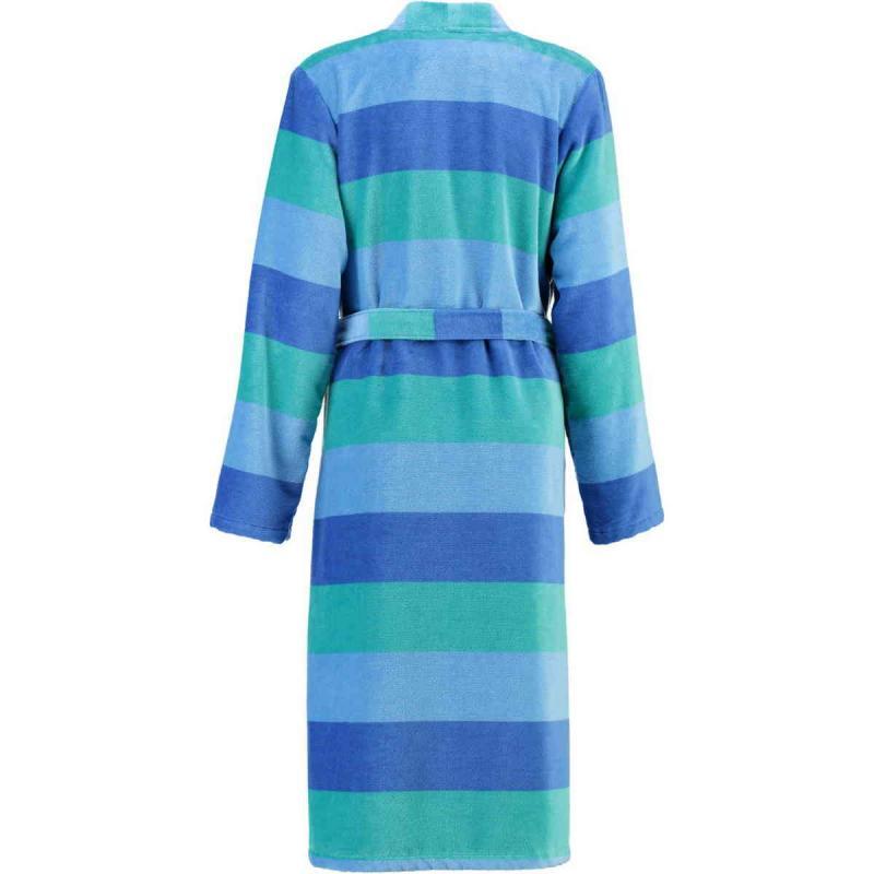 Cawö Reef kimono velour morgonrock dam 5412-14 av 100% bomull