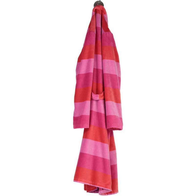 Cawö Reef kimono velour morgonrock dam 5412-28 av 100% bomull