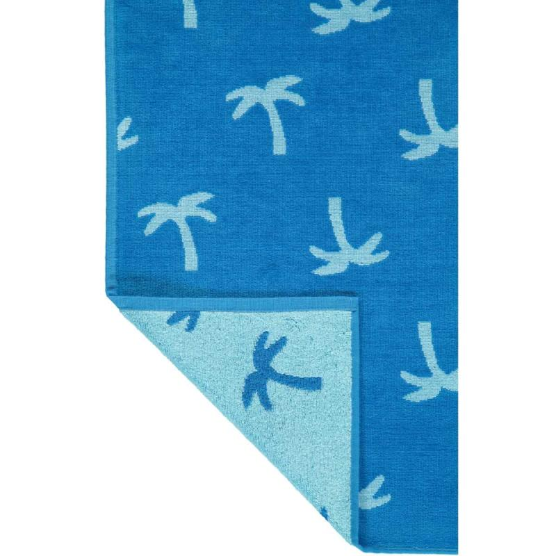 Beach towel 5553-14 Palm