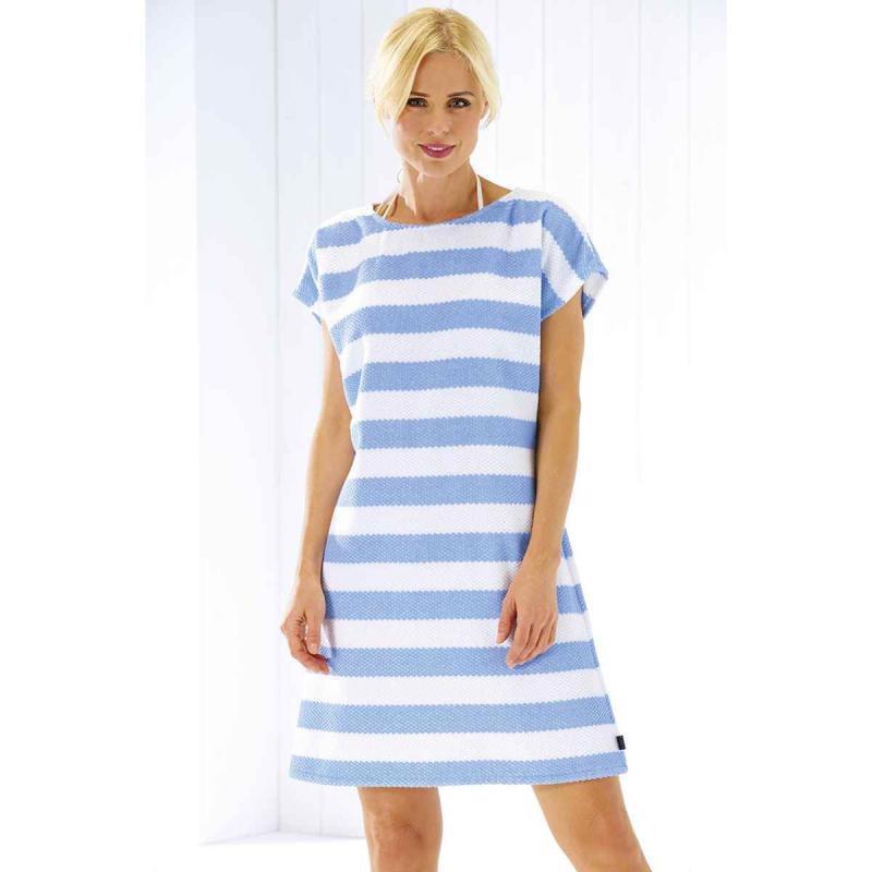 Beach Dress 9305-16 blue