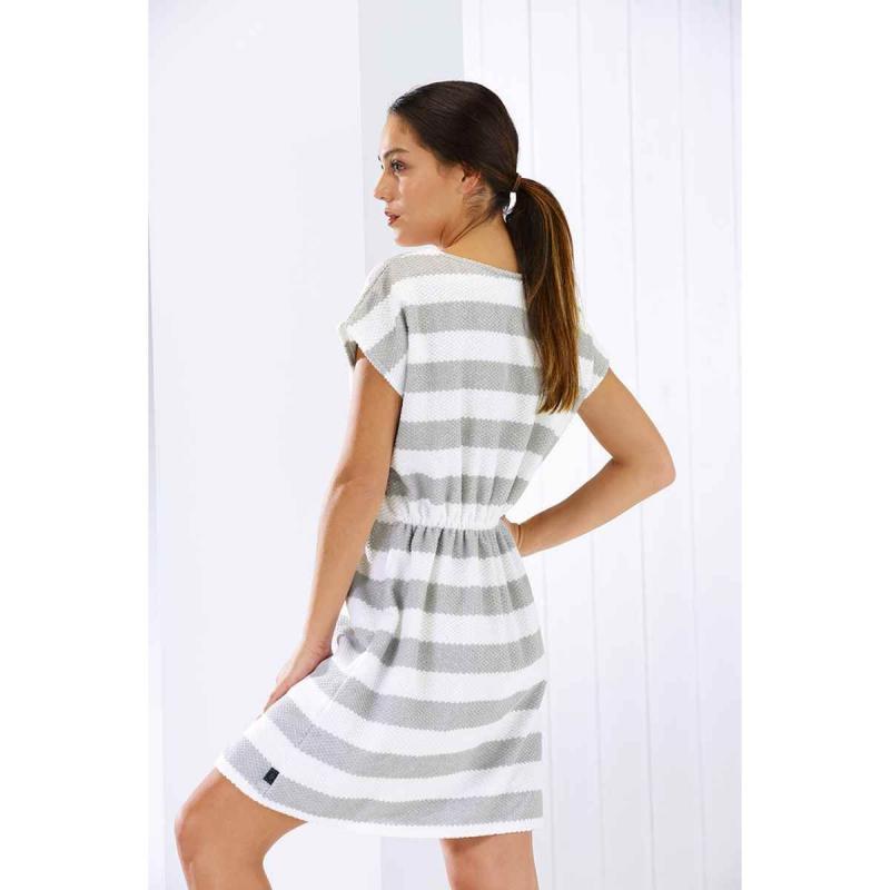 Beach Dress 9305-76 silver