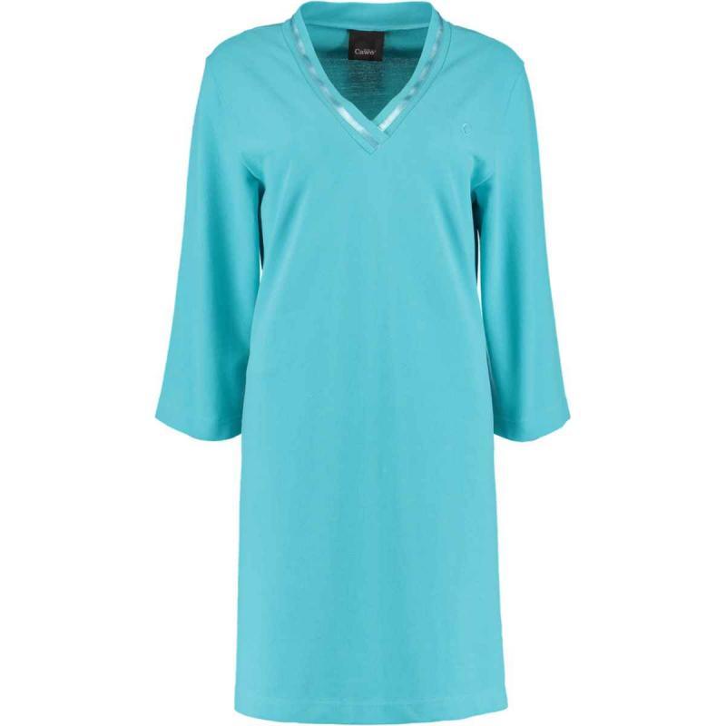 Beach dress tunic 819-44 turquoise