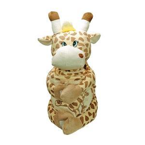 Handduk med huva 75x75 cm Sonja Girafe