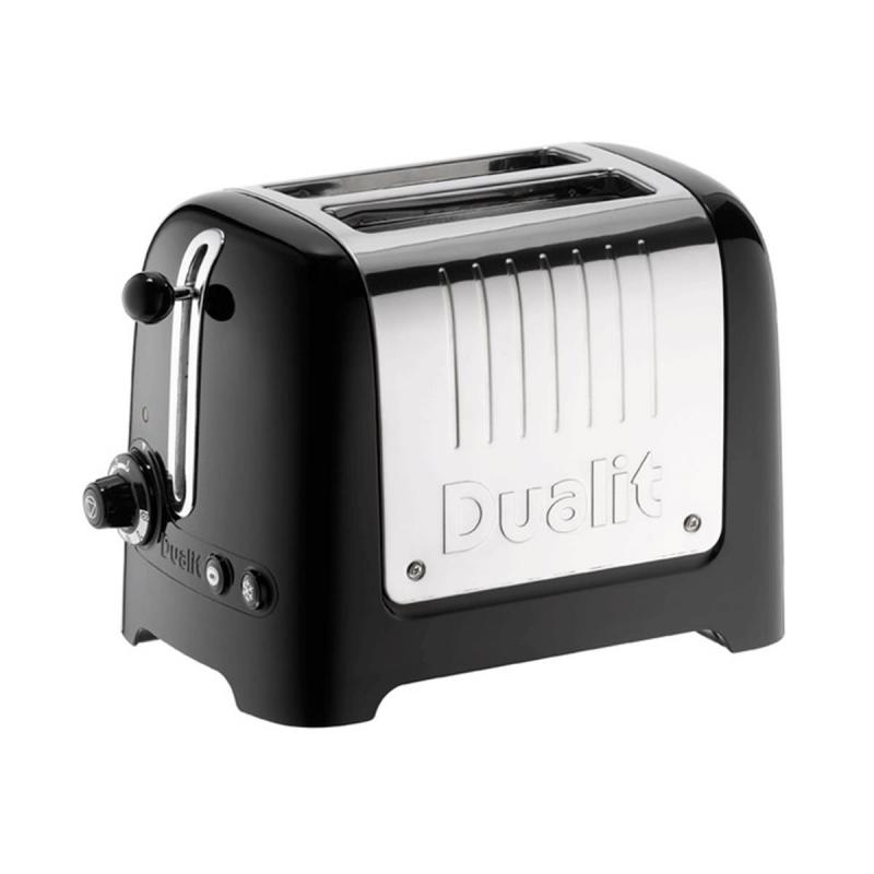 Dualit Lite 2 slice toaster. White with extra-wide 36mm slots