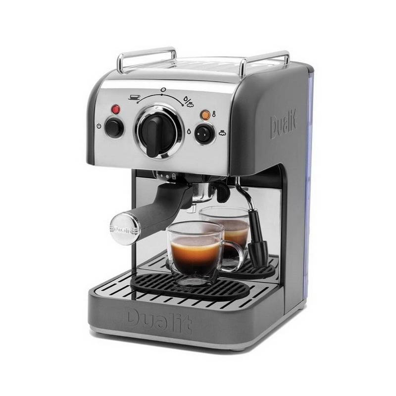 Dalit coffee machine choose from ground coffee, mess-free ESE Pods, Nespresso® Capsules, NX® Coffee Capsules and Fine Tea Capsules.