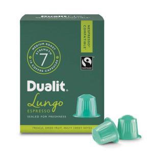 Dualit & Nesspresso kompatibla Fairtrade Kaffekapslar n/x Lungo Americano 10-pack