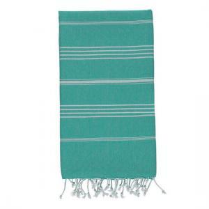 Extra Stor Hamam handduk De La Mer Sea Green Strandhandduk