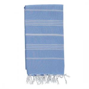 Extra Stor Hamam handduk SULTAN Sky Blue 160x230 cm 100% Bomull